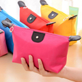 Makeup bag waterproof 1 PC Multi-colors Woman cosmetic bag Fashion Lady travel organizer black Pouch Clutch Storage makeup Bag