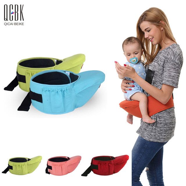 Comfortable Baby Hipseat Infant Sling Soft Natural Wrap Carrier Baby Backpack 0-3 Yrs Breathable Cotton Carrier Nursing Cover