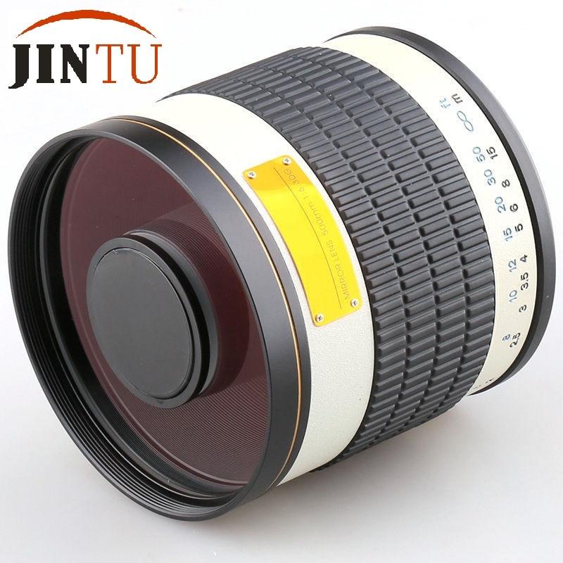 JINTU 500mm f / 6.3 F6.3 Valge Telephoto peegel objektiiv Sony Alpha - Kaamera ja foto - Foto 3