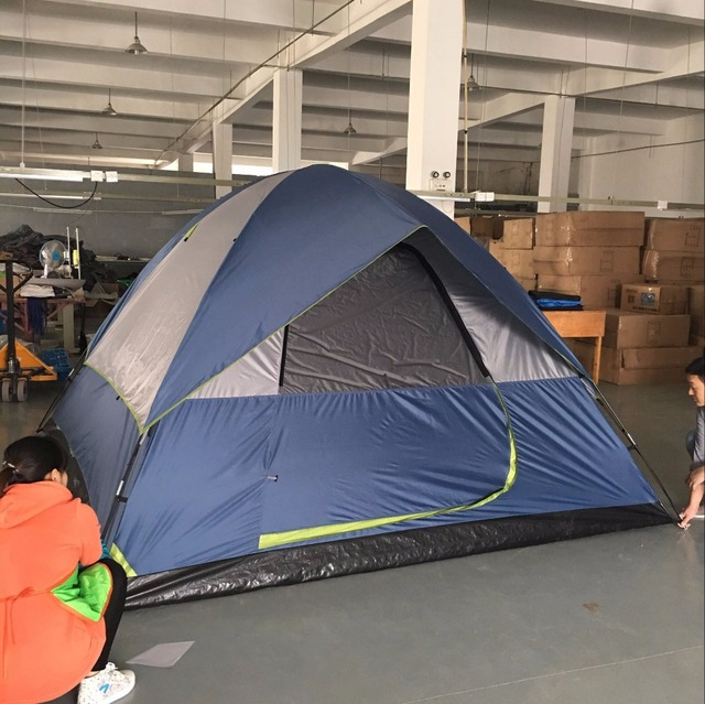 Hot Selling Folding Double Layer waterproof 6 Person Dome Tent CZX-223 Family Dome & Hot Selling Folding Double Layer waterproof 6 Person Dome Tent ...