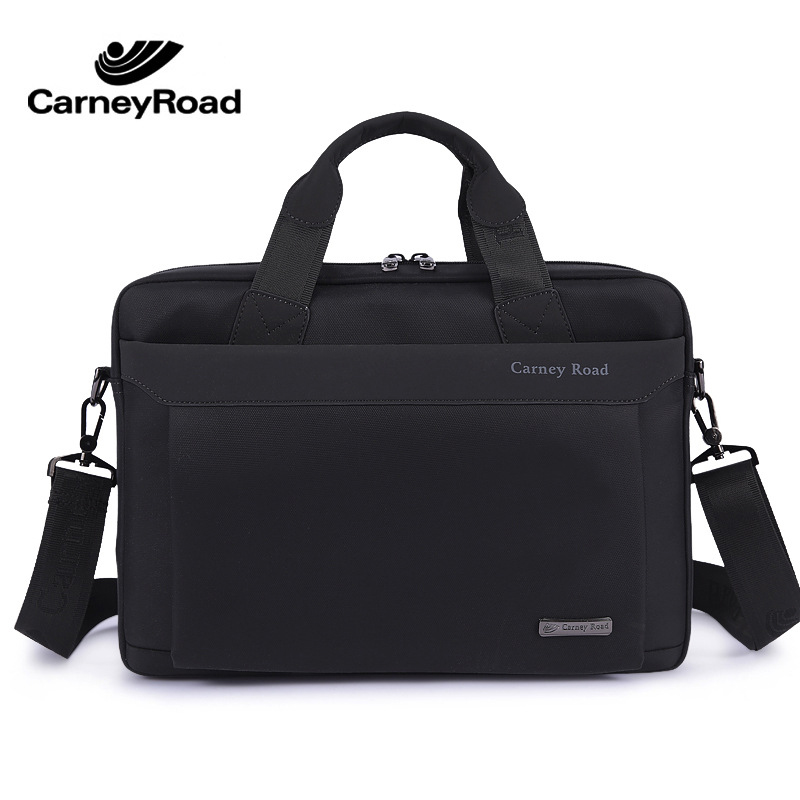 2019 New Top Quality Classic Business Briefcase Men Oxford Waterproof 15 Inch Laptop Bag Multi-function Handbags Shoulder Bags