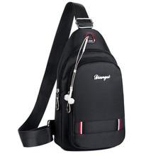 New Unisex Arrival Crossbody Bags Men Anti-theft Chest Pack Summer Short Trip Messengers Bag Water Repellent Shoulder