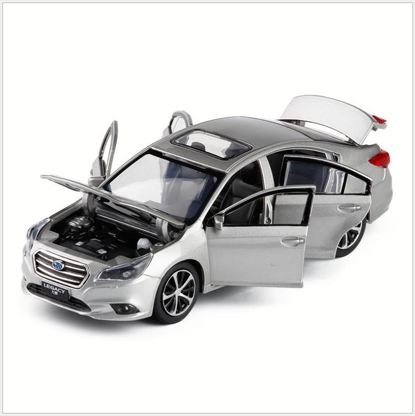 132 wysokiej symulacji Subaru Legacy stop wycofać model, 6 otwarte drzwi symulacja dźwięku i światła kolekcja zabawki, darmowa wysyłka