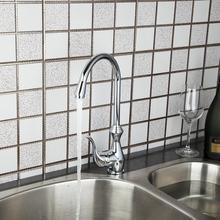 Привет Новый Кран Хромированная Поворотный Раковина Смеситель Кухонный Кран 8498 torneira да cozinha 360 Градусов Вращающийся Кран
