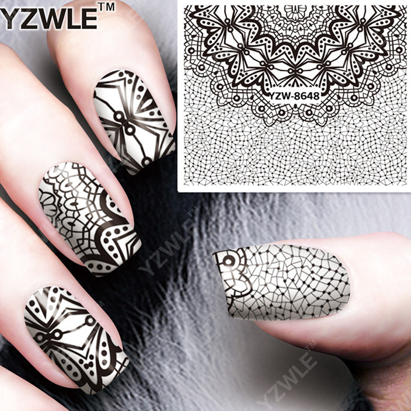 5sheets Lot 3d Art Line Spider Draw Pattern Nail Decals Water Transfer Stickers Decorations 8648 Diy Salon Tips In From Beauty