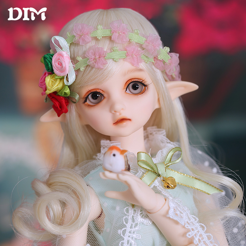 DIM Flowen doll bjd resin figures luts ai yosd kit doll not for sales bb fairyland toy gift iplehouse lati fl кукла bjd fl fairyland feeple moe60 celine bjd sd doll soom luts