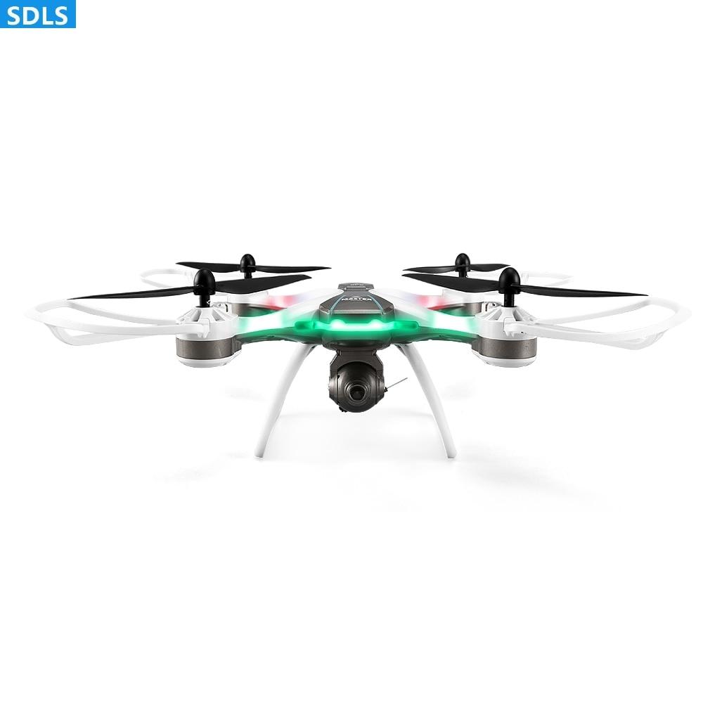 1080 P WIFI FPV caméra 2.4G RC GPS Drones RC Quadcopters GPS retour automatique ensemble hauteur maintien Point vol faible puissance retour