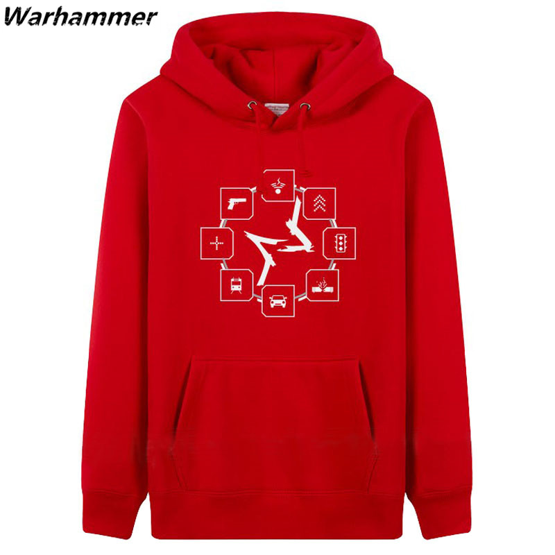 2017 New Watch Dogs womens hoodies winter sweatshirts game style thick 3XL fleece Men warm hooded pullover Jackets Big Size top