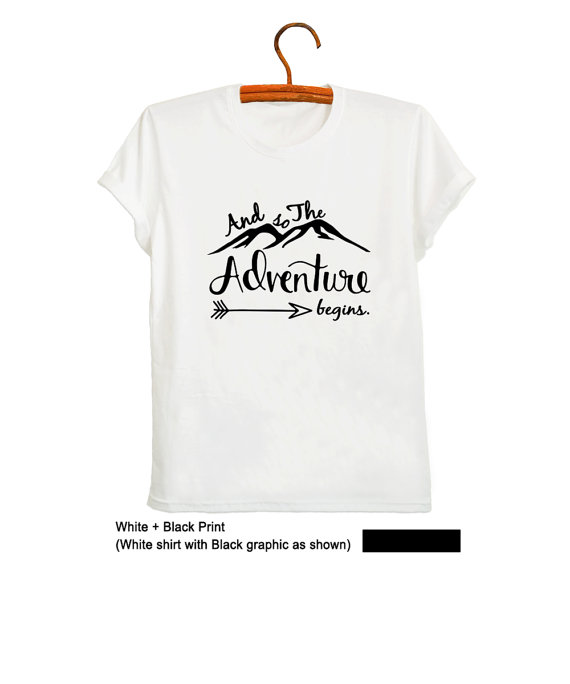 Adventure Shirt Womens Shirt Travel TShirt Vacation Shirt Clothes Mountains Tee Shirt Adventure Gift for her-D200