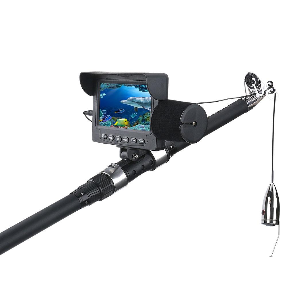 Câmera de Pesca Lcd da Fishfinder Subaquática Gelo