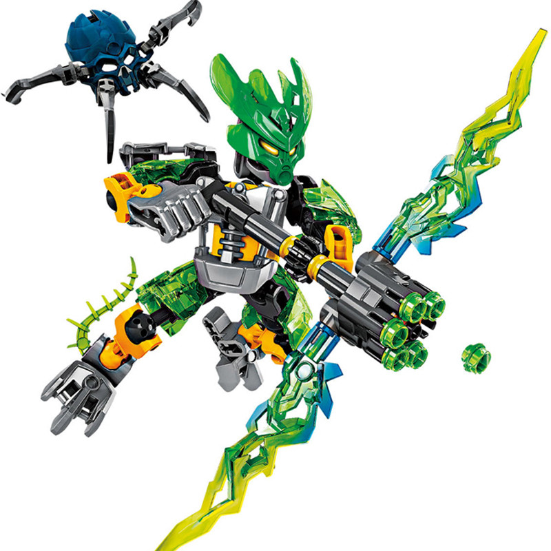 NEW-6-Stules-BIONICLE-Series-Jungle-Rock-Water-Earth-Ice-Fire-Protector-Action-figure-Building-Block (2)
