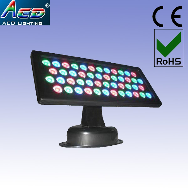 wholesale 3* Lot Outdoor Wall Lighting-LED Floodlight 36W rgb Wash Light Led Wall Washer DMX Stage Light