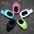 Vwar Anti Потерянный GPS Tracker Часы Для Детей SOS Аварийного GSM смарт-Мобильный Телефон Приложение Для IOS и Андроид Smartwatch Браслет Сигнализации