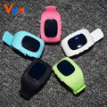 Vwar Anti Lost GPS Tracker Watch For Kids SOS Emergency GSM Smart Mobile Phone App For IOS & Android Smartwatch Wristband Alarm