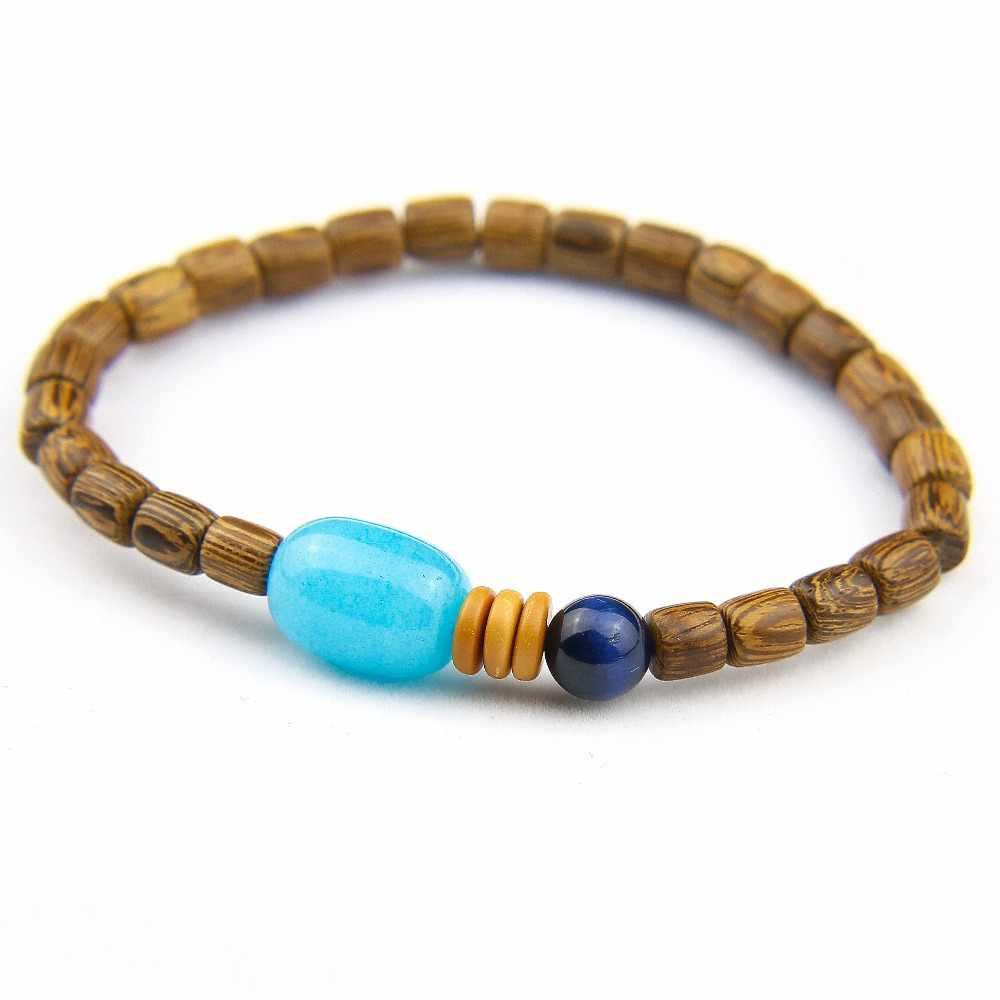 Men/'s Stone bracelet man woman gold Silver gold silver amazonite Tiger eye