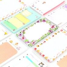 40 sheet/pack A6 A5 Colorful Refills Spiral Notebook Inner Pages 6 holes Loose Leaf Diario Binder Paper Planner Filler Paper все цены