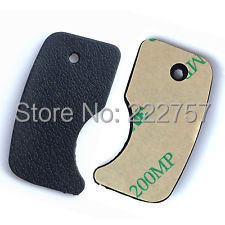 NEW FOR Nikon D50 RUBBER Thumb Rear Back Cover Rubber Unit + TAPE ADHESIVE