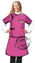 X-ray jaqueta e saia 2 conjuntos x-ray 0.5 proteção 0.5mmpb chumbo borracha two-sided vestido/saia y-ray protective clothing,