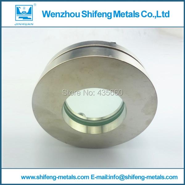 "1-1/2 ""SS304 vista vista de processamento final de solda de vidro/de vidro bitola"