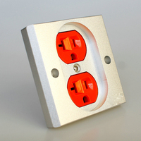 KING SNAKE CK III 24K Gold Plated Wall Plate Power Socket