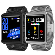 New Color Smart Watch Waterproof Smart bracelet Heart Rate/Blood Pressure Monitor Fitness Tracker Bracelet Pedometer Smartwatch