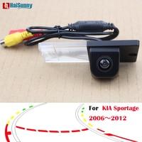 HaiSunny Intelligent Dynamic Trajectory Tracks night vision Rear View Camera For Kia Sportage 2006 2007 2008 2009 2010 2011 2012