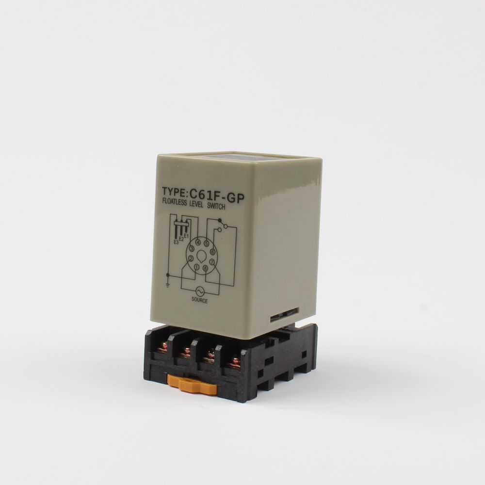 C61F-GP level relay water level controller switch pump automatically switches with base C61F-GP
