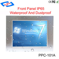 10.1 Inch High Brightness 64G SSD Embedded IP65 Industrial Touch Screen Panel PC For ATM & Advertising Machines & POS System
