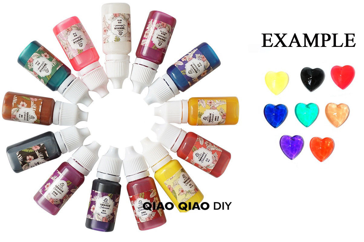 Epoxy Color Uv Resin Coloring Dye Colorant Gel Pigment Diy Handmade Crafts Art 8color In Nail From Beauty Health On Aliexpress