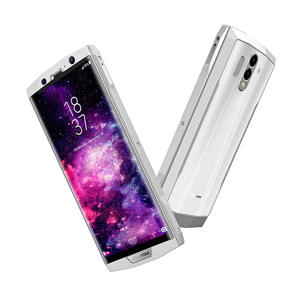 HOMTOM HT70 4g Smart Phone 6.0 pollice Android 7.0 MTK6750T Octa Core 1.5 ghz 4 gb di RAM 64 gb ROM Dual Telecamere Posteriore 10000 mah Batteria
