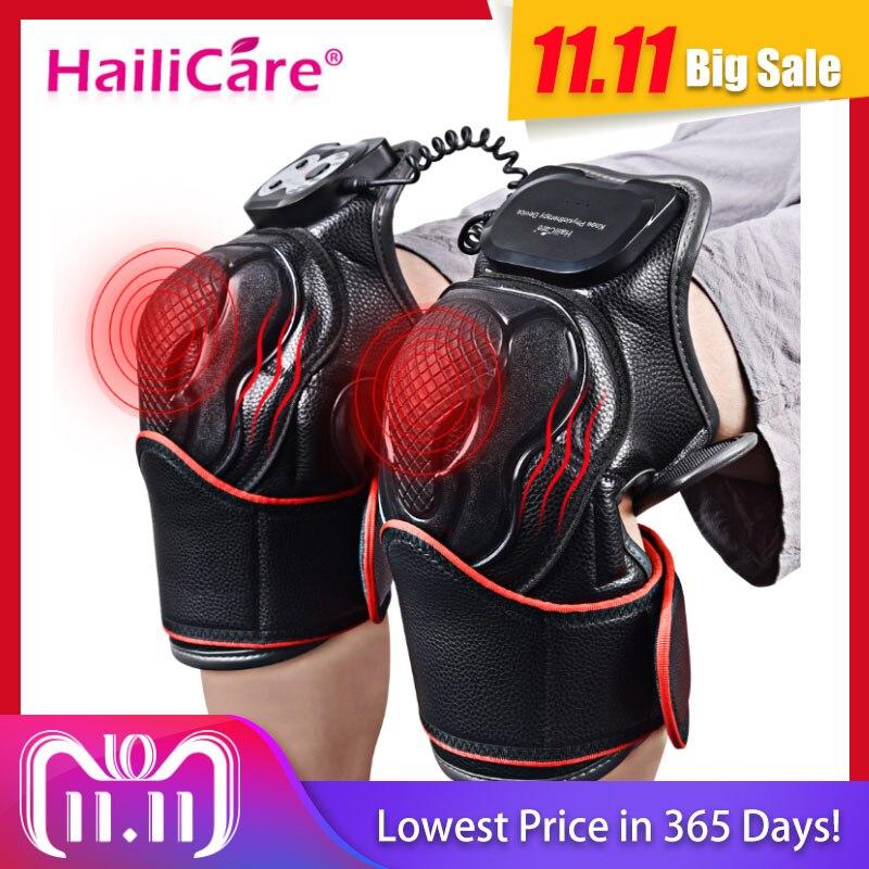 Knie Magnetic Vibration Heizung Massager Gemeinsamen Physiotherapie Massage Elektrische Massage Schmerzen Relief Rehabilitation Ausrüstung Pflege