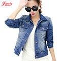 Fashion 2016 Autumn Women's Jeans Jackets Loose Slim Wild Denim Jacket Women Short Jean Jacket Coats For Women Outwear