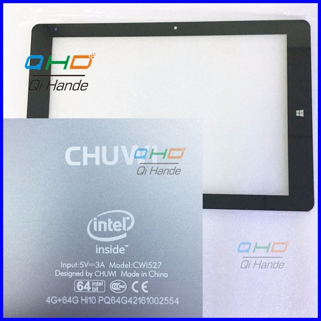 "1pcs/lot Black New For 10.8"" Chuwi HI10 plus CWI527 Tablet touch screen Panel digitizer glass Sensor Replacement Free Shipping"