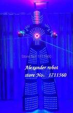 LED robot Costume /LED Clothing/Light suits/ LED Robot suits/ Alexander robot suit