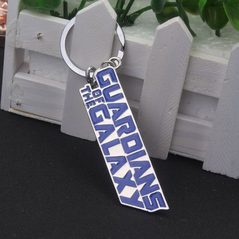 Movie series GUARDIANS OF THE GALAXY Bule Keychain