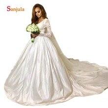 Sunzeus Long Sleeve Wedding Dresses Gowns Bride Dresses