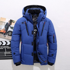 Image 2 - High quality mens winter jacket thick snow parka overcoat white duck down jacket men wind breaker brand Tace & Shark down coat