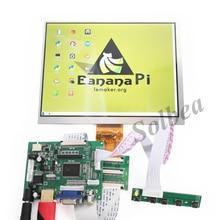 """Nouveau HDMI VGA 2AV 50PIN TTL LVDS Carte Contrôleur Module + 8 """"pouces 1024*768 HE080IA-01D HJ080IA-01E Écran lcd pour Raspberry PI"""