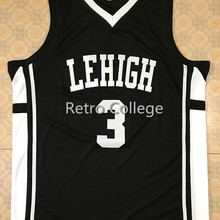066f7e8d37e #3 CJ McCollum Lehigh Mountain Hawks College Throwback Basketball Jersey  Embroidery Stitched XXS-XXL