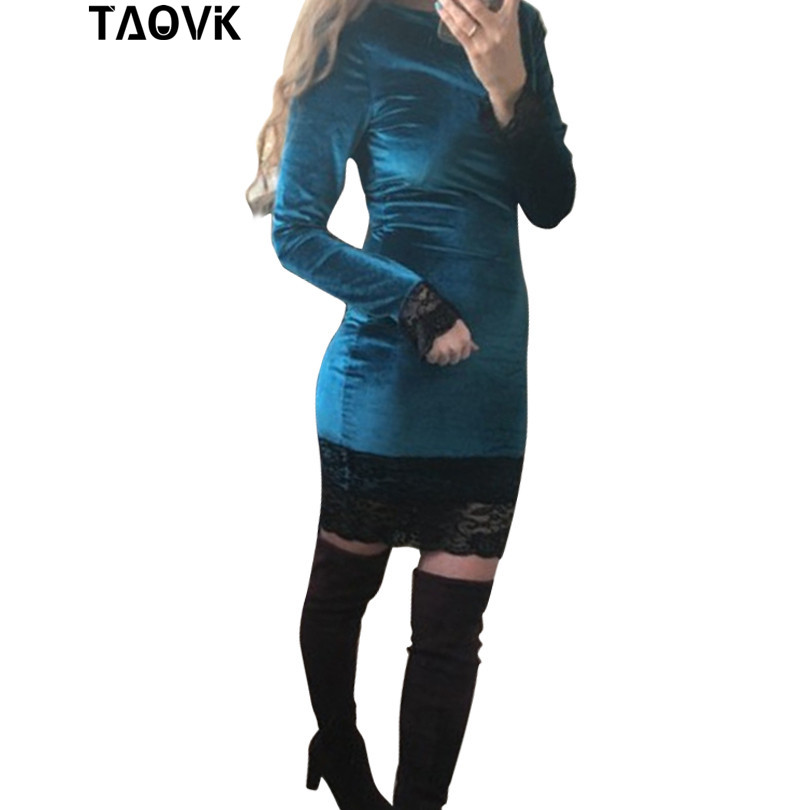 TAOVK new fashion Russian style Autumn Women's Dress