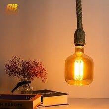 E27 Retro Edison Bulb LED Filament Light Bulbs 4W AC220V 240V P140 Ampoule Vintage Pendant Lamp Spiral Industrial Decor