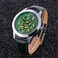 20/lot homem esporte fashion best selling Kezzi relógios homens relógios de pulso de couro de quartzo barato k1032