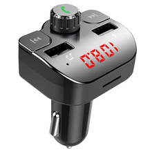 CDEN FM transmitter car mp3 music player Bluetooth kit receiver dual USB charger U disk TF card