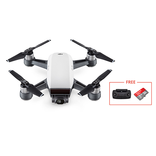 DJI Spark Not Fly More Combo With 16GB MicroSD Pocket Selfie Drone WiFi FPV Camera