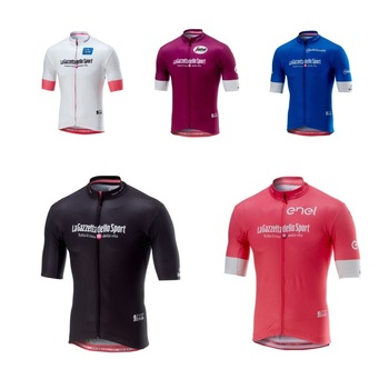 2018 pro girode italy italia team pink summer cycling jerseys quick-dry bike  clothing MTB f3469739a