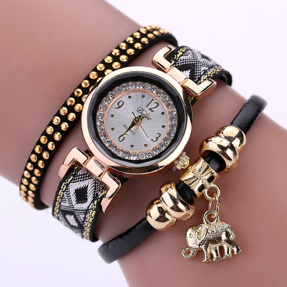 luxury brand new s fashion gold elephant