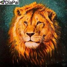 DiaPai Diamond Painting 5D DIY 100% Full Square/Round Drill Animal lion Diamond Embroidery Cross Stitch 3D Decor A24428 diapai diamond painting 5d diy 100% full square round drill animal lion diamond embroidery cross stitch 3d decor a24702