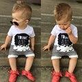 2016 Лето мальчик Ребенок Шаровары Мультфильм Полосой и Кактус Рисунок мальчик Шаровары мода марка малышей Девушка и мальчики одежда Брюки