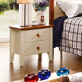 Factory wholesale Mediterranean style bedroom furniture bedside bedside table