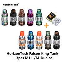 Original HorizonTech Falcon King Tank Bulb Vape Tank 6ML Atomizer & 3PCS M1+ M Dua Core Electronic Cigarette VS Uwell Crown 4